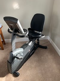 Life Fitness Lifecycle RS3 Recumbent Exercise Bike  PITTSBURGH