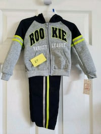 Toddler Boys Hoodie and Pants Set Round Rock, 78665