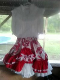 b9c7df53cd8f Used 10 Almost new square dancing outfits petticoat for sale in ...