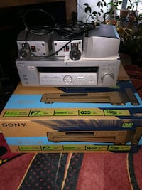 Sony surround sound w/ speakers and dvd/ cd player Alexandria, 22310