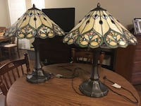 Stain glass lamps Hamilton