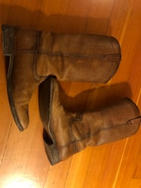 Frye boots size 11, one year used 2353 mi