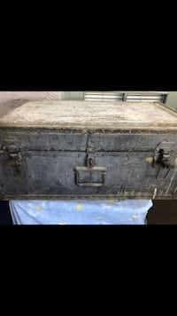 Antique military trunk Henderson, 89014