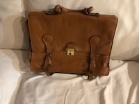 brown leather 2-way handbag Montréal, H3W 1B9