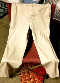 Khaki school pants by:Childrens Place size 12 very soft! No stains! Alva, 33920