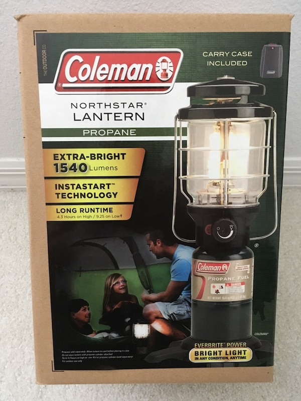 Coleman Northstar Propane Lantern with Soft Carrying Case
