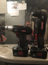 Black cordless power drills Edmonton, T5H 2K3
