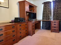 Office desk and file cabinets Ellicott City, 21043