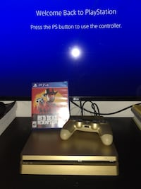 Gold 1tb ps4 slim with red dead 2 San Francisco, 94112