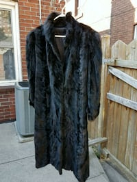 Black mink coat 542 km
