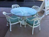 Patio Table + 4 Chairs  2058 mi
