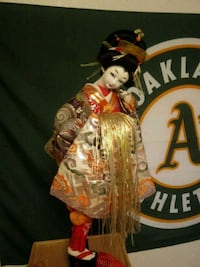 Japanese doll from Vietnam era Rochester, 98579
