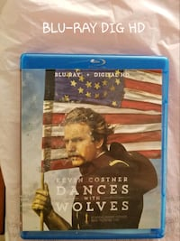 Dances with Wolves bluray Alva, 33920