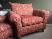 Thomasville chair with ottoman  Calgary, T3A 2M9