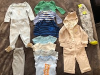 Baby boy's' clothing 0-3 months  Vancouver, V6E 1J6