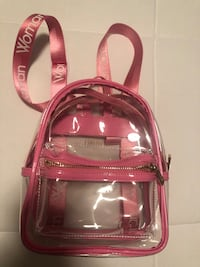 Backpack new never used small and compact see thru. Vaughan, L4L