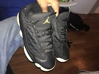 black and white Air Jordan 13  Toronto, M3A