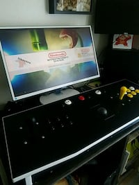 Arcade fightstick (monitor not included) Orange, 92866