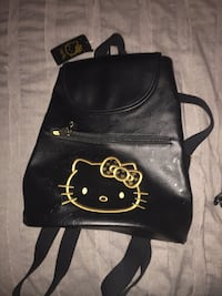 black leather hello kitty backpack New York, 10461