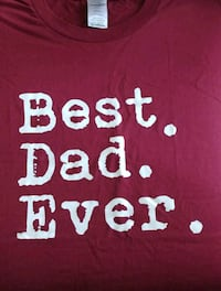 Best Dad Ever Tee, Large Toronto, M1W 2L7