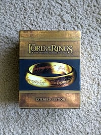 Lord of the rings extended editions on blu ray