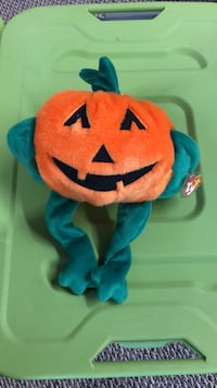 Very rare ty Buddy pumpkin excellent condition Macedonia, 44056