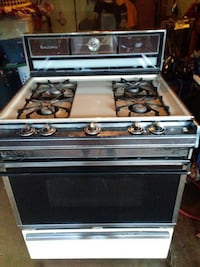 stainless steel gas range oven San Antonio, 78221