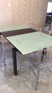 Table dining glass bought$1500 Laval, H7P 5N1