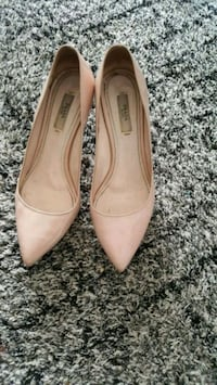 Authentic nude prada sz 37  Surrey, V3V 7G8