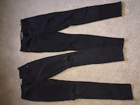 Black jeans one size 1 and the other size 0 Chilliwack, V2R 4B9