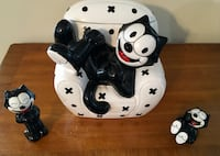 Felix the Cat cookie jar and salt and pepper shakers Williamsport, 21795