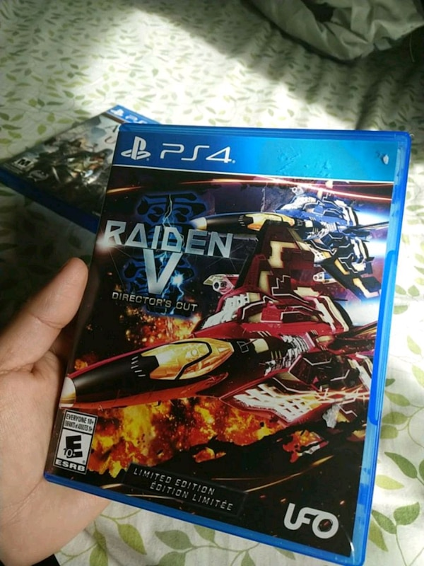 Ps4 game raiden V director's cut