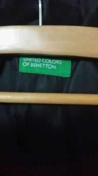 United Colors of Benetton etiqueta de la ropa 6398 km