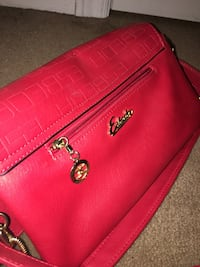 Red Escada leather tote bag Niagara-on-the-Lake, L0S
