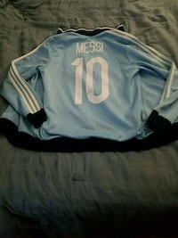 messi's national team jacket for a kid