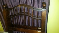 brown wooden headboard and footboard Lincolnia, 22312