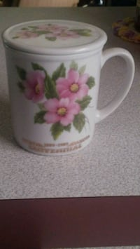 1889 - 1989 Centennial Prairie Rose Coffee Cup w/l Center, 58530