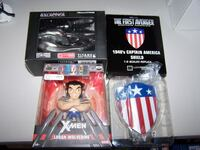3 collectible figurines - Marvel - Galactica Vaughan
