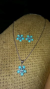 Starfish turquoise jewelry set #2 Greeneville, 37743