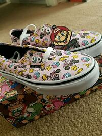 Vans youth size 1.5 princess peach Tustin