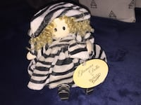 white and brown tiger plush toy Los Angeles, 91331