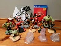 Disney infinity PS4 game w/character and base Depew