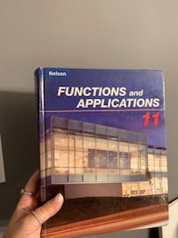 Functions and Applications 11 Math Textbook Vaughan, L4J 7W4