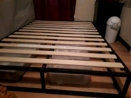 Zinus double bed frame