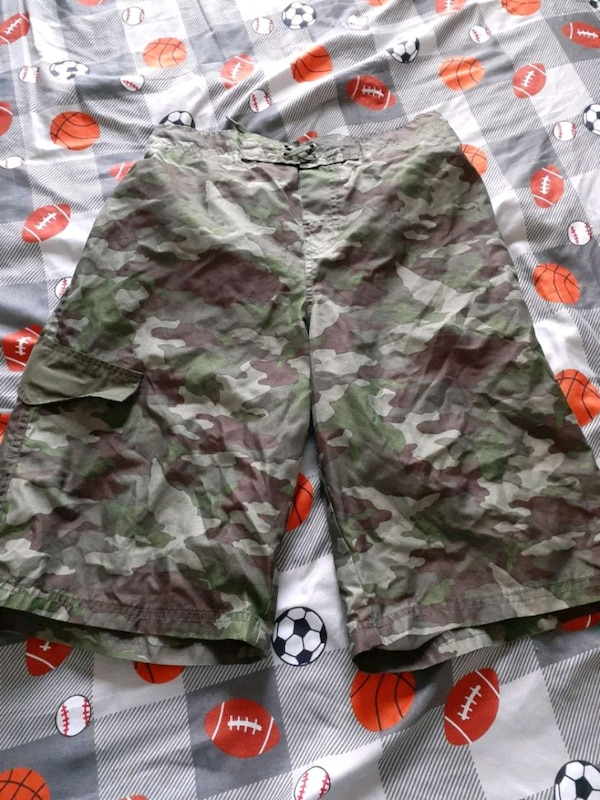 Camouflage water shorts  448b0211-d60a-43a7-bec6-2ab00516c5c1