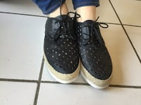 pair of black-and-white sneakers Vaughan, L6A 1N1