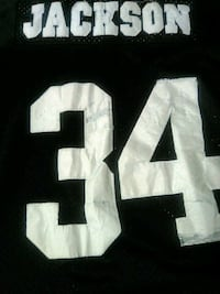 NFL Oakland RAIDERS Jersey AUTHENTIC BO JACKSON  Washington
