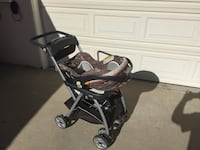 Keyfit 22 carseat and stroller complete set