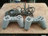 Vintage Sony Playstation controllers