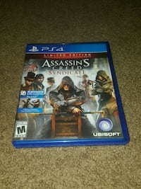 PS4 Assassin's Creed Syndicate game case Toledo, 43607